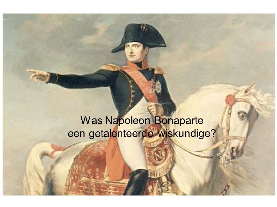 Was Napoleon Bonaparte een getalenteerde wiskundige