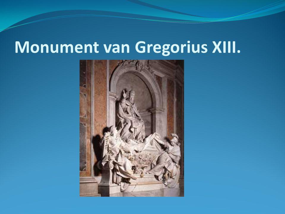 Monument van Gregorius XIII.