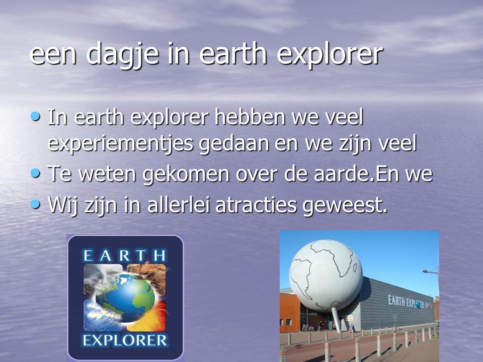een dagje in earth explorer