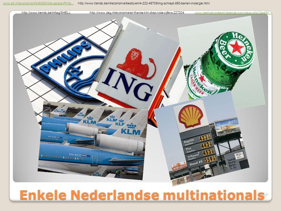 Enkele Nederlandse multinationals