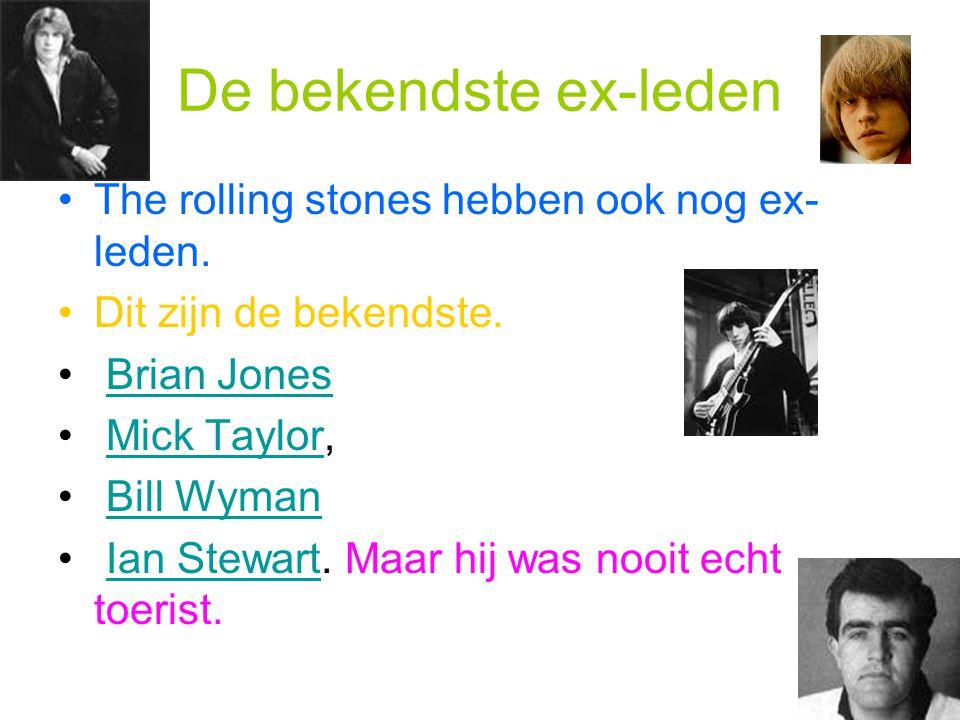 De bekendste ex-leden The rolling stones hebben ook nog ex-leden.