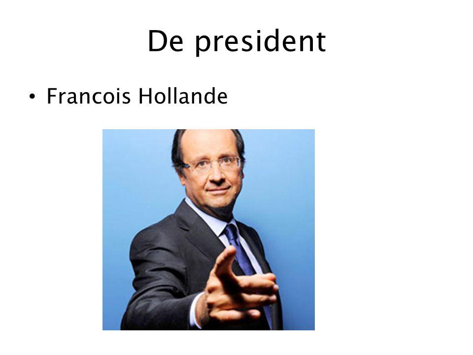 De president Francois Hollande