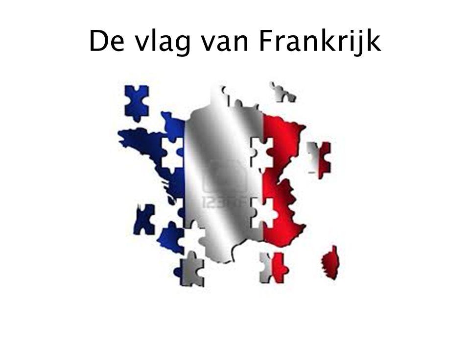 De vlag van Frankrijk