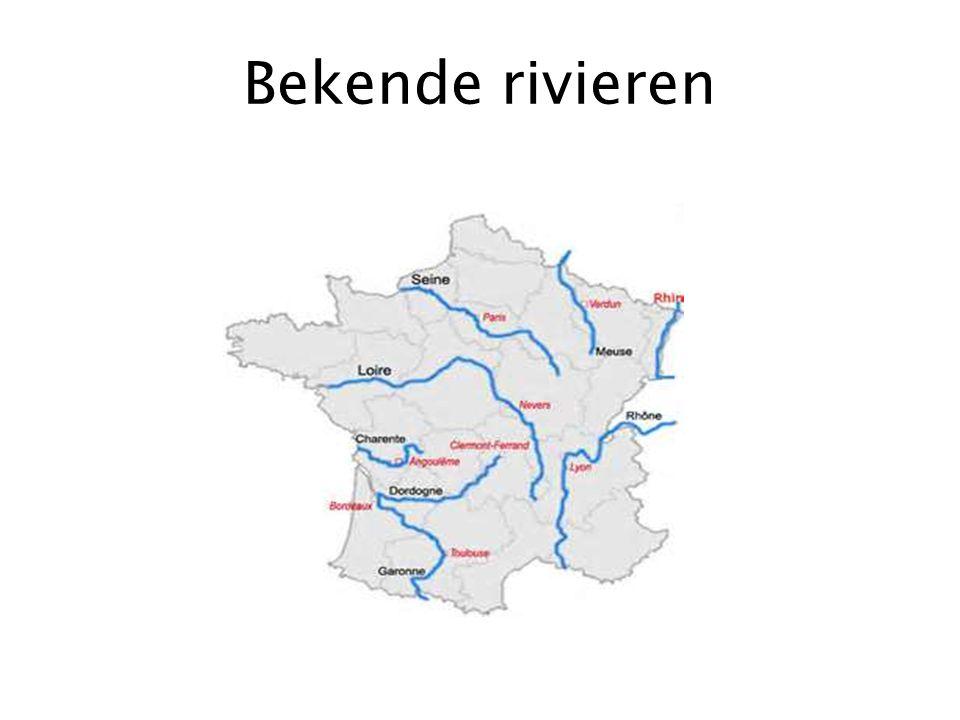 Bekende rivieren