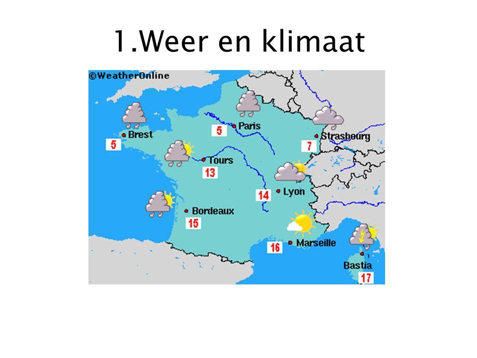 1.Weer en klimaat