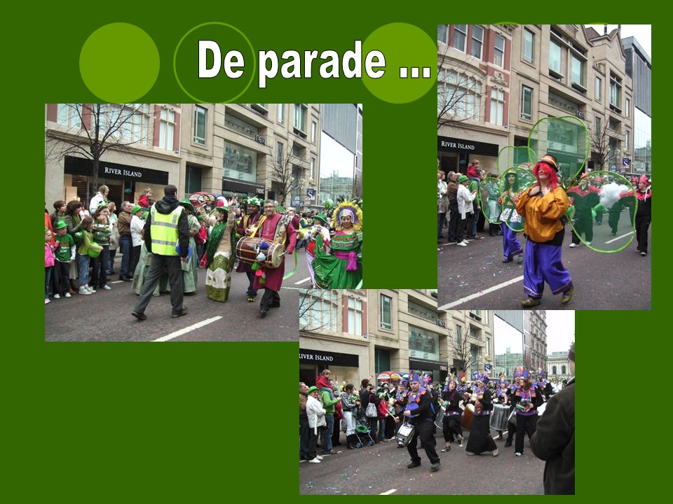 De parade ...