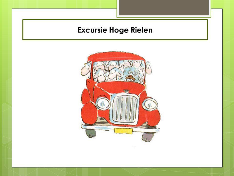 Excursie Hoge Rielen