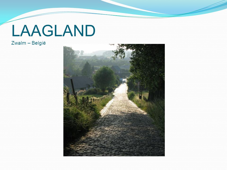 LAAGLAND Zwalm – België