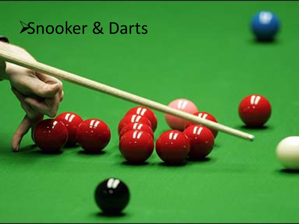 Snooker & Darts