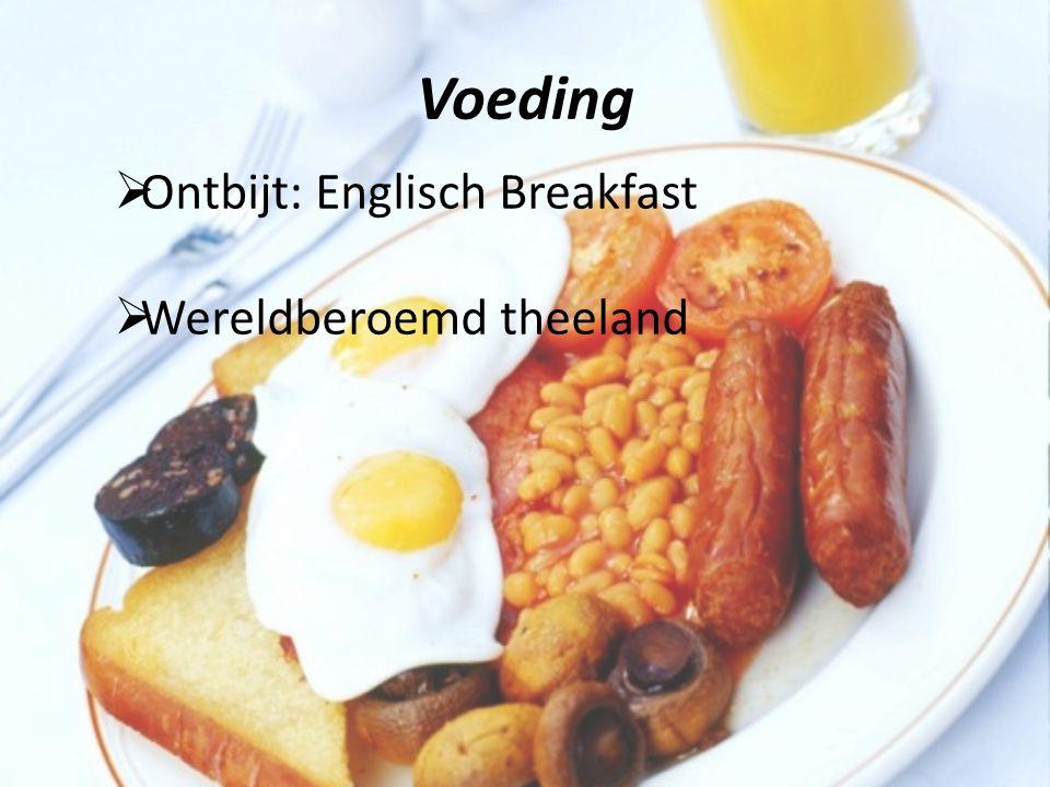 Voeding Ontbijt: Englisch Breakfast Wereldberoemd theeland