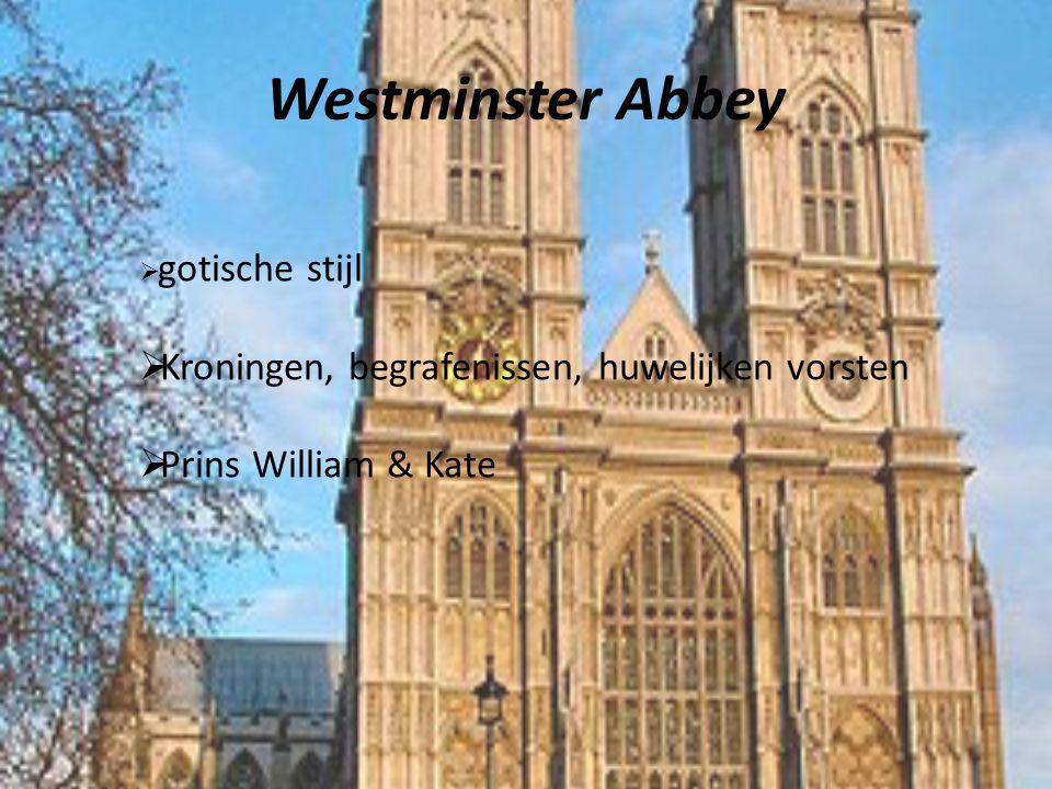 Westminster Abbey Kroningen, begrafenissen, huwelijken vorsten