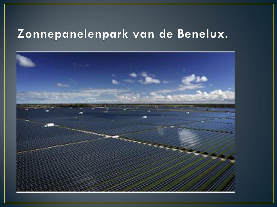 Zonnepanelenpark van de Benelux.