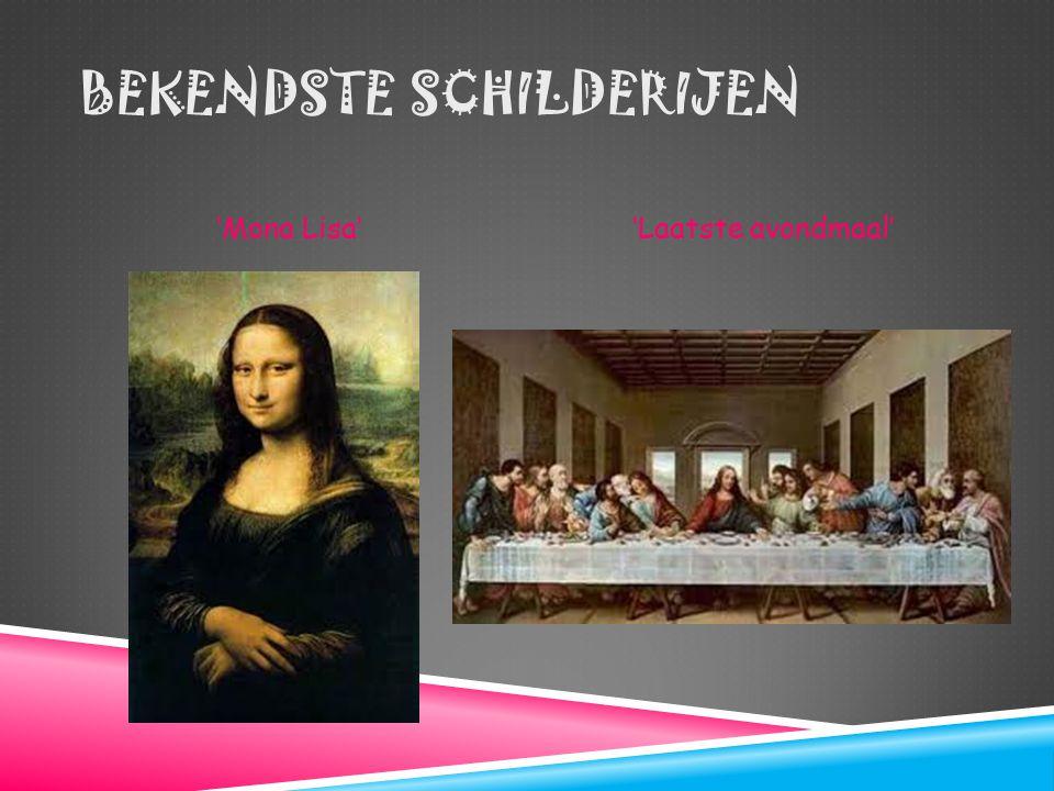 Bekendste schilderijen