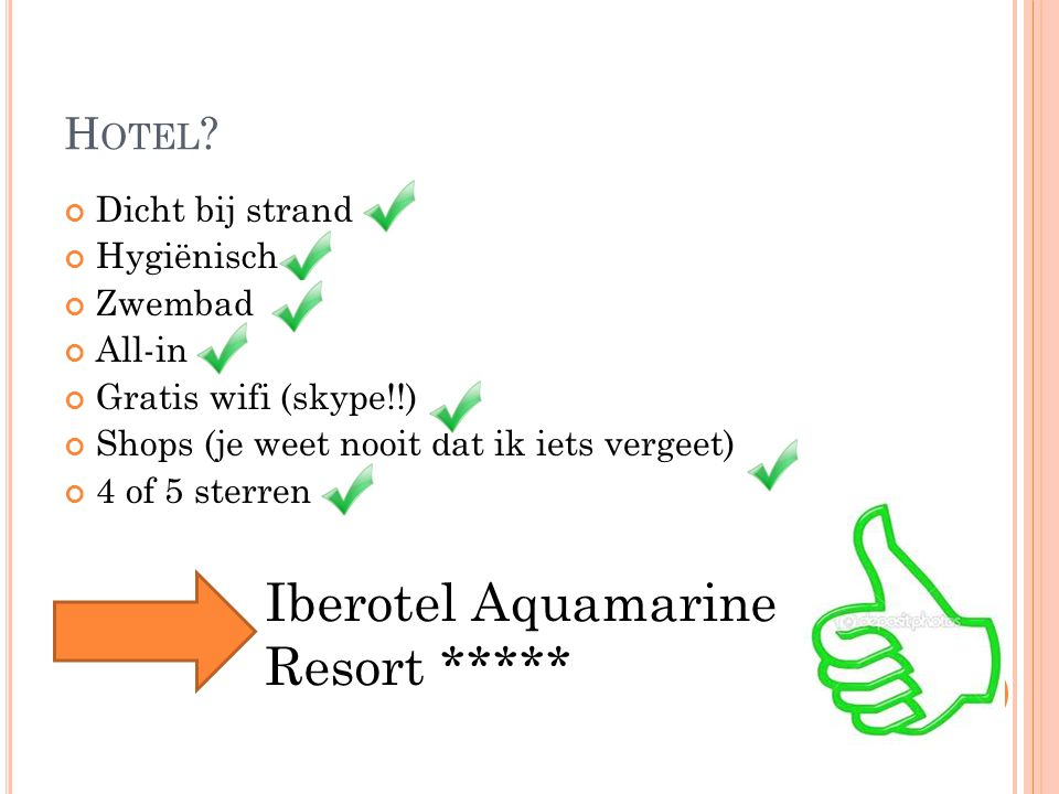 Iberotel Aquamarine Resort *****