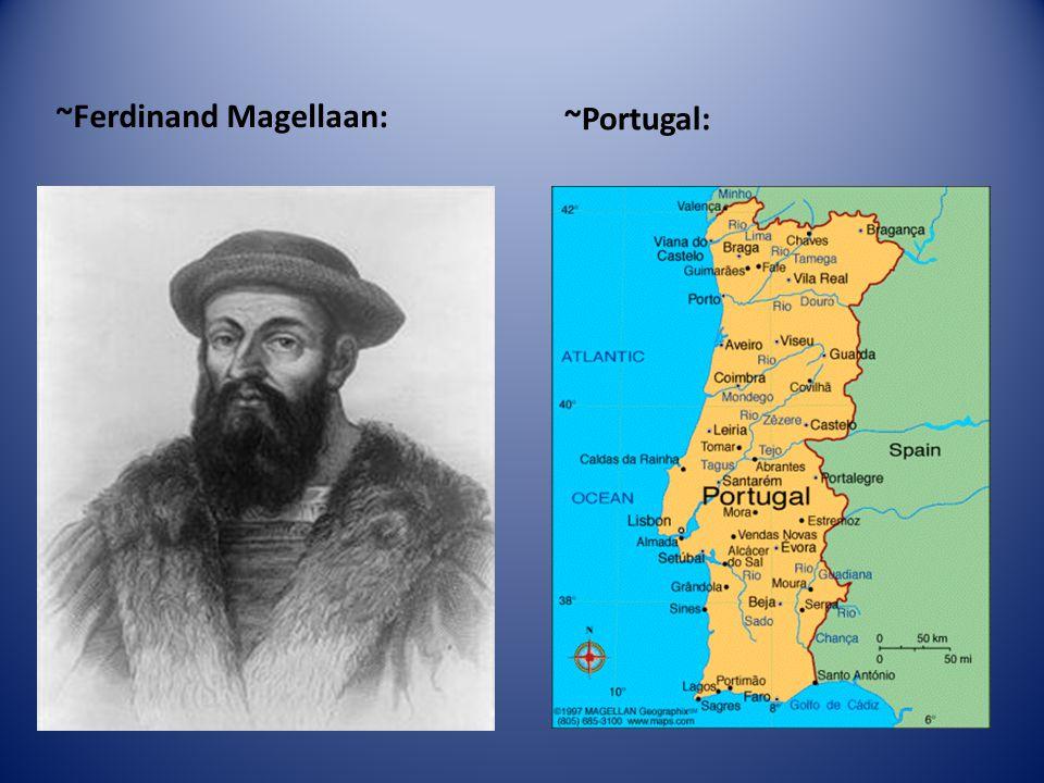 ~Ferdinand Magellaan: