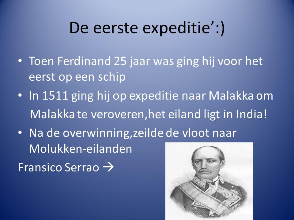 De eerste expeditie':)