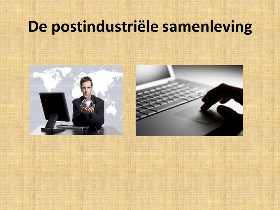 De postindustriële samenleving