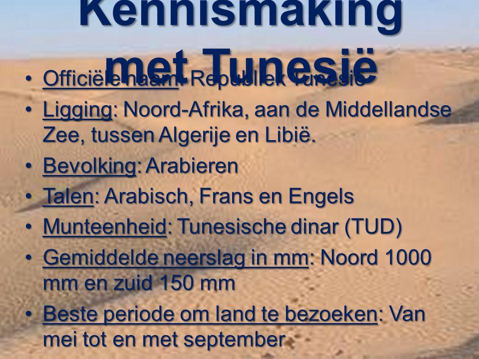 Kennismaking met Tunesië