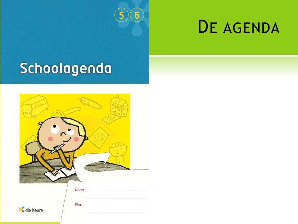 De agenda