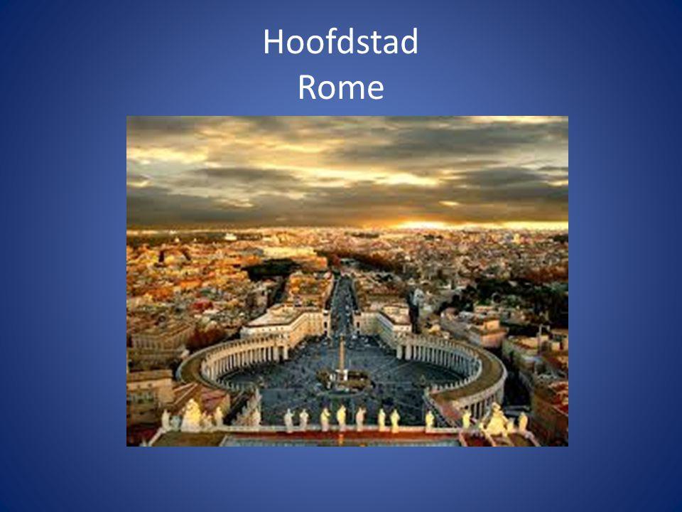 Hoofdstad Rome