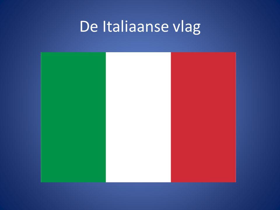 De Italiaanse vlag