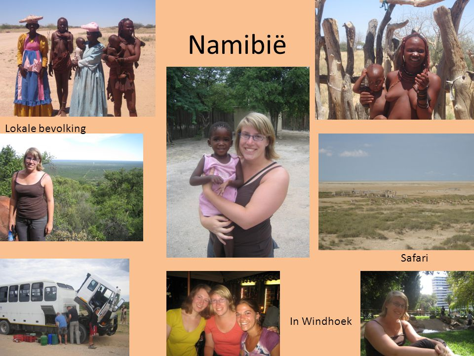 Namibië Lokale bevolking Safari In Windhoek