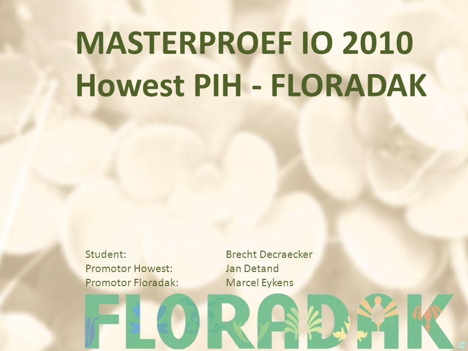 MASTERPROEF IO 2010 Howest PIH - FLORADAK
