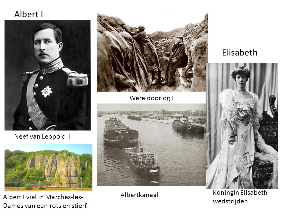 Albert I Elisabeth Wereldoorlog I Neef van Leopold II