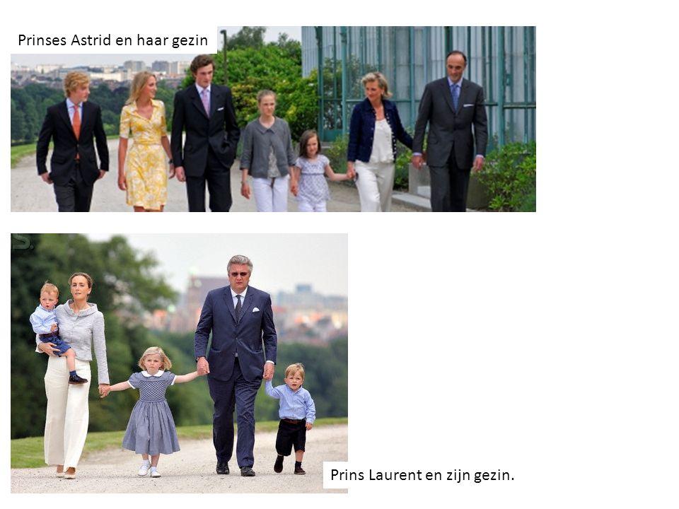 Prinses Astrid en haar gezin