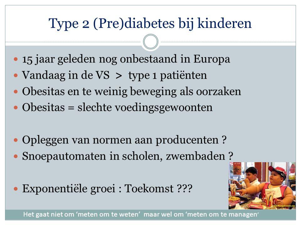 Type 2 (Pre)diabetes bij kinderen