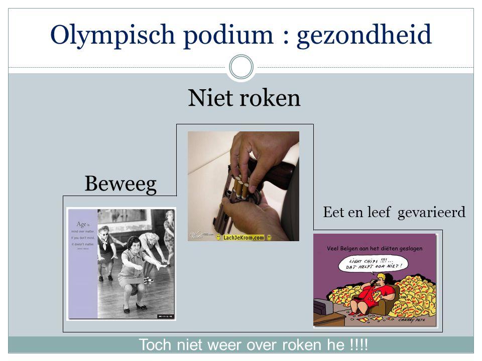 Olympisch podium : gezondheid