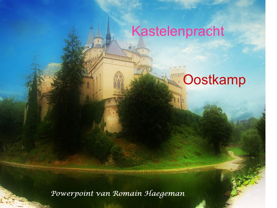 Kastelenpracht Oostkamp Powerpoint van Romain Haegeman