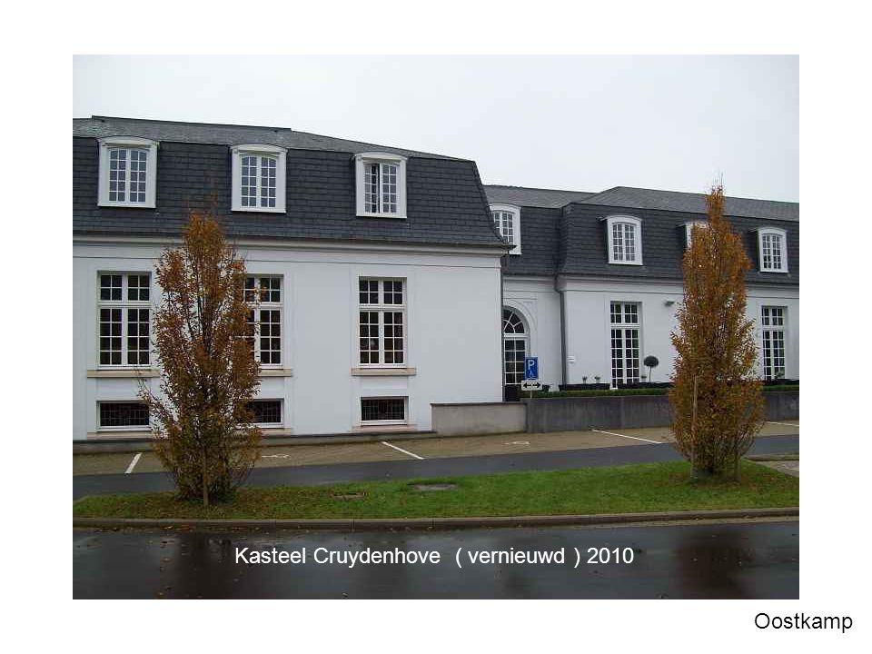 Kasteel Cruydenhove ( vernieuwd ) 2010