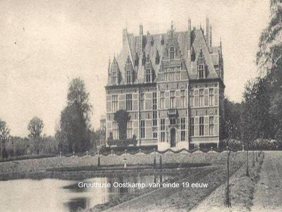 Gruuthuse Oostkamp van einde 19 eeuw