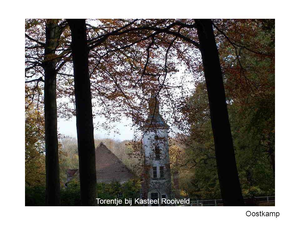 Torentje bij Kasteel Rooiveld