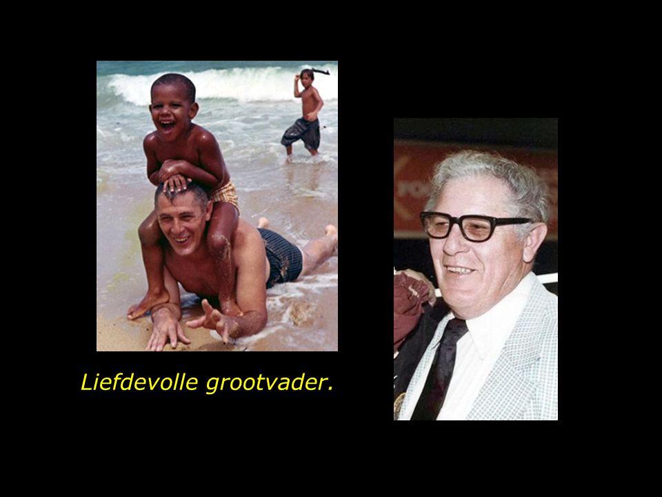 Liefdevolle grootvader.