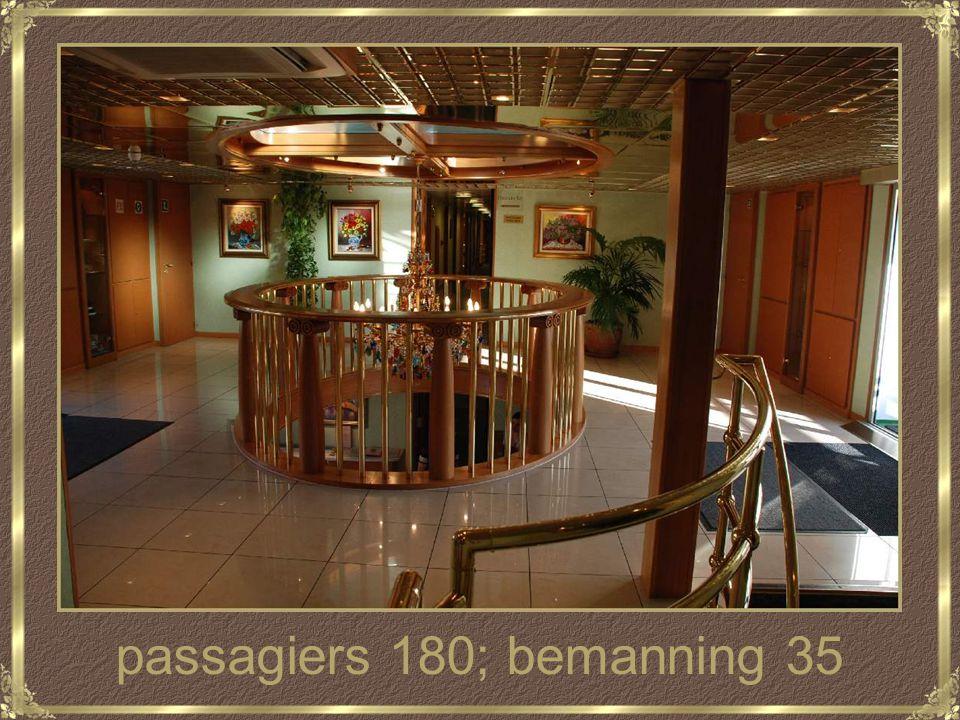 passagiers 180; bemanning 35