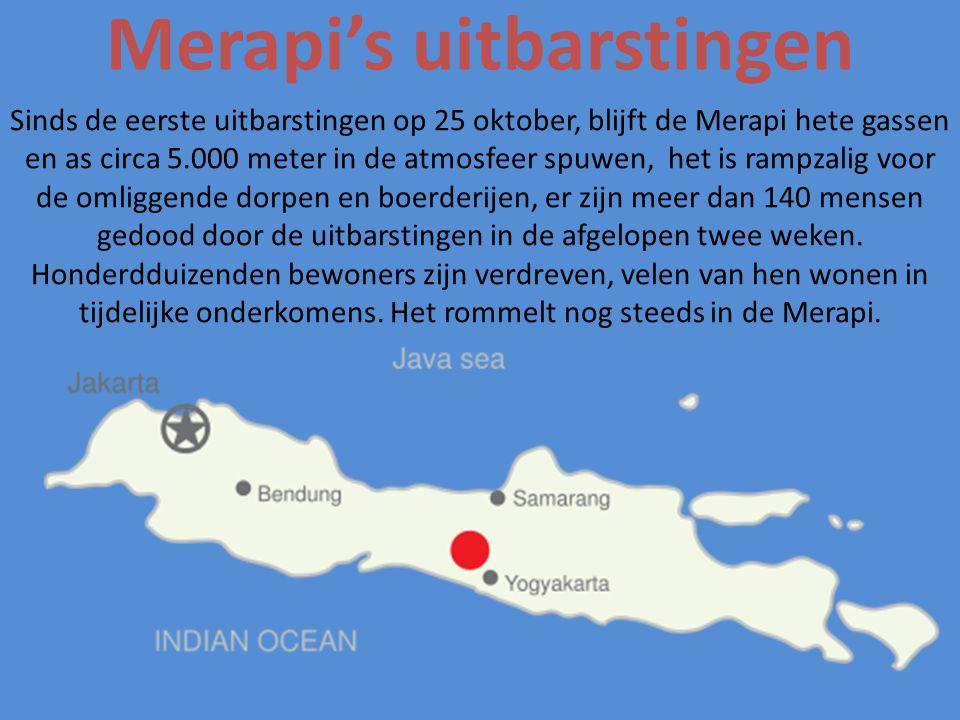 Merapi's uitbarstingen