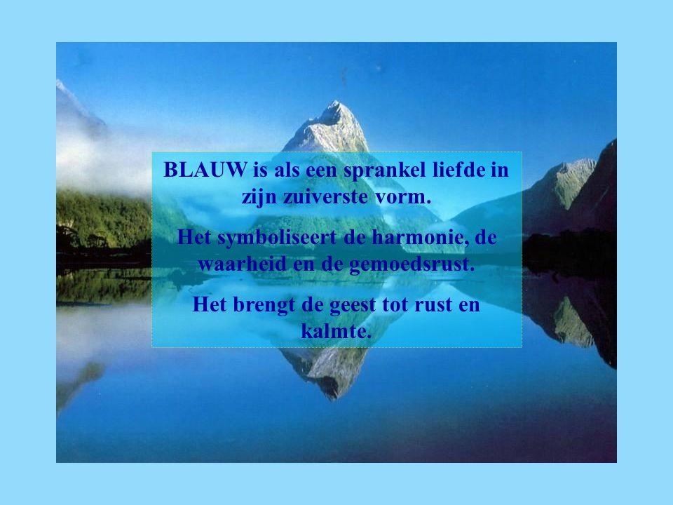 BLAUW is als een sprankel liefde in zijn zuiverste vorm.