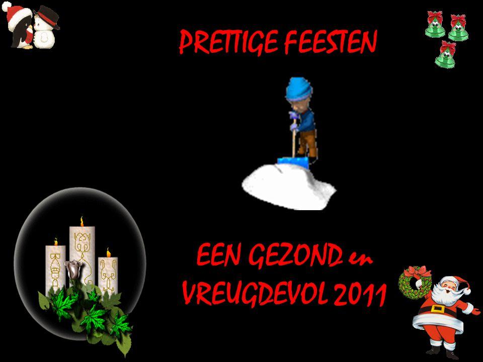 EEN GEZOND en VREUGDEVOL 2011