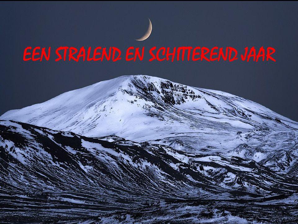 EEN STRALEND EN SCHITTEREND JAAR