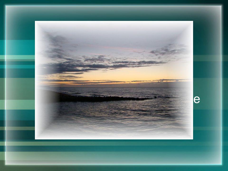 Hoezeer een rivier zich voort mag kronkelen, uiteindelijk bereikt ze toch de zee...