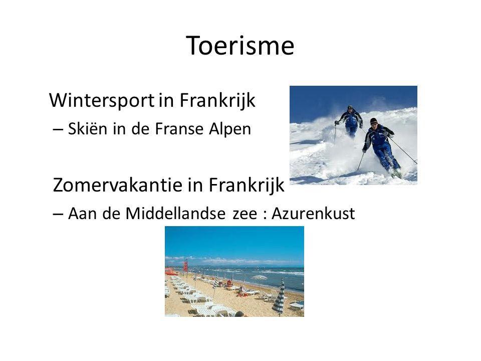 Toerisme Wintersport in Frankrijk Zomervakantie in Frankrijk