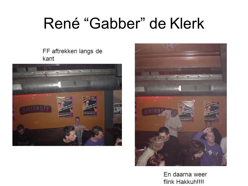 René Gabber de Klerk FF aftrekken langs de kant