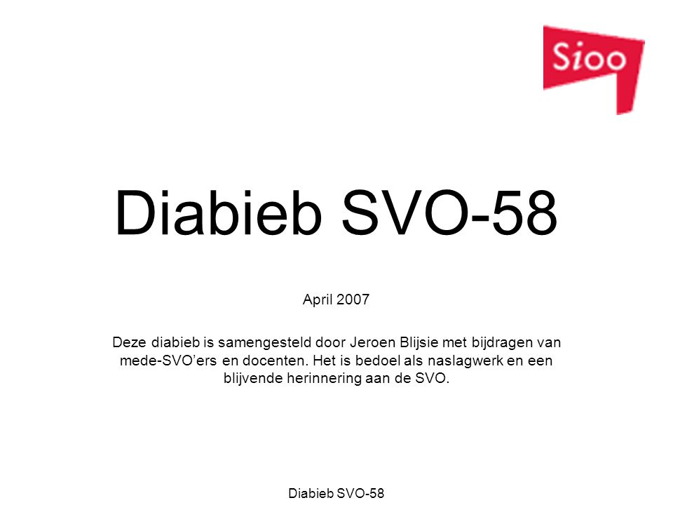 Diabieb SVO-58 April 2007.