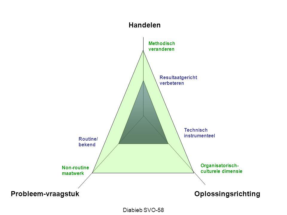 Handelen Probleem-vraagstuk Oplossingsrichting Diabieb SVO-58