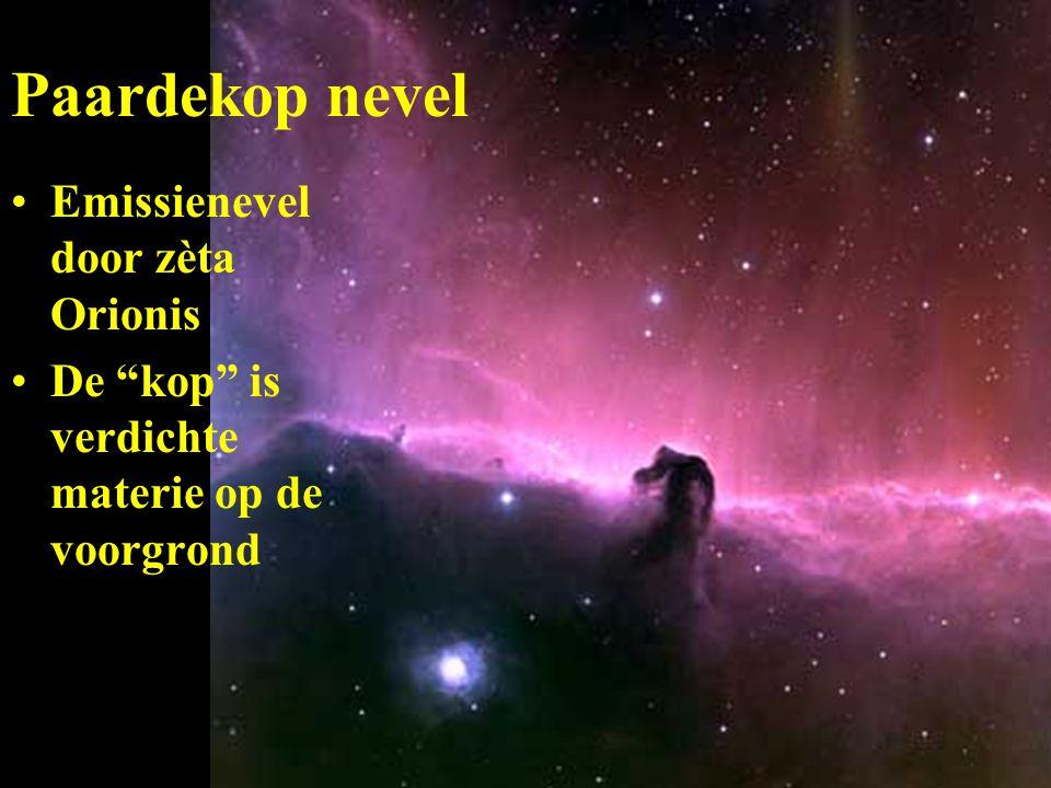 Paardekop nevel Emissienevel door zèta Orionis