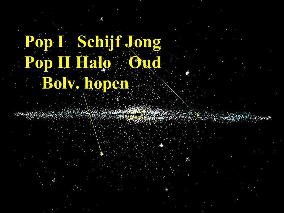 Pop I Schijf Jong Pop II Halo Oud Bolv. hopen