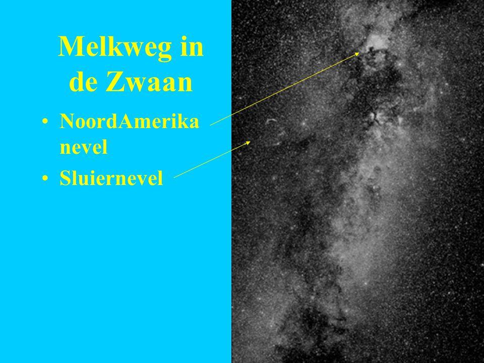Melkweg in de Zwaan NoordAmerika nevel Sluiernevel