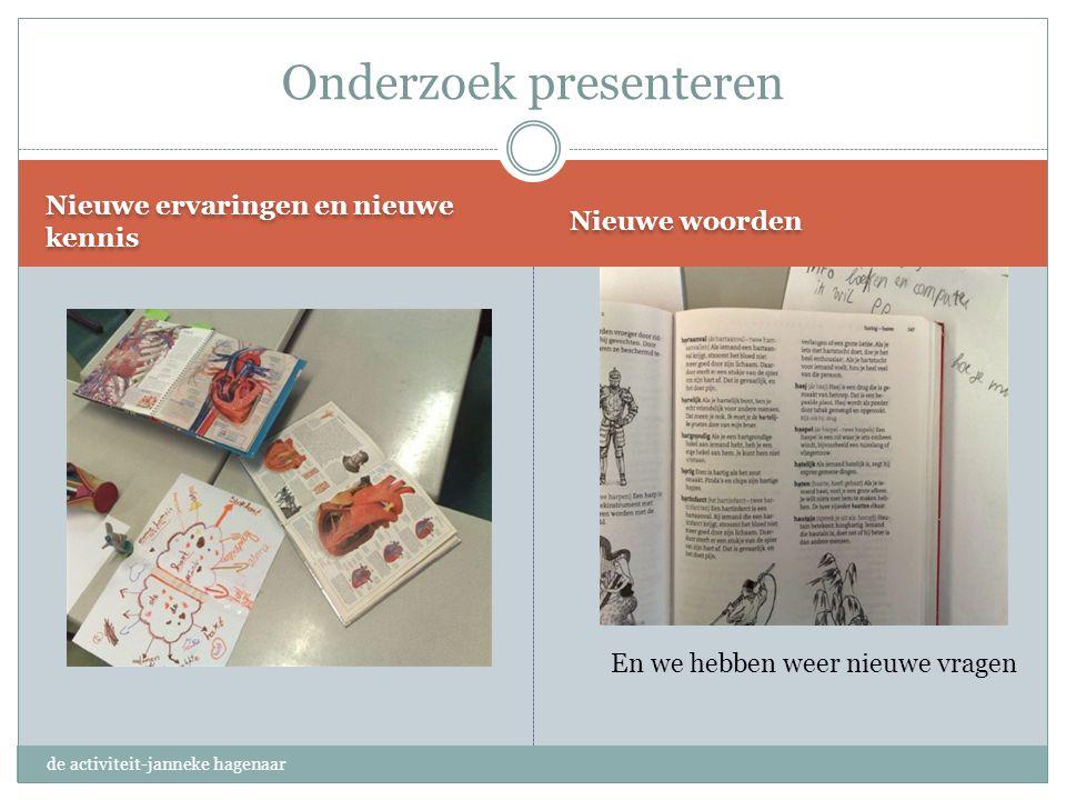 Onderzoek presenteren